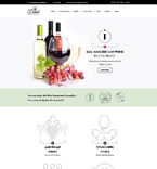 Food & Drink WordPress Template 59007