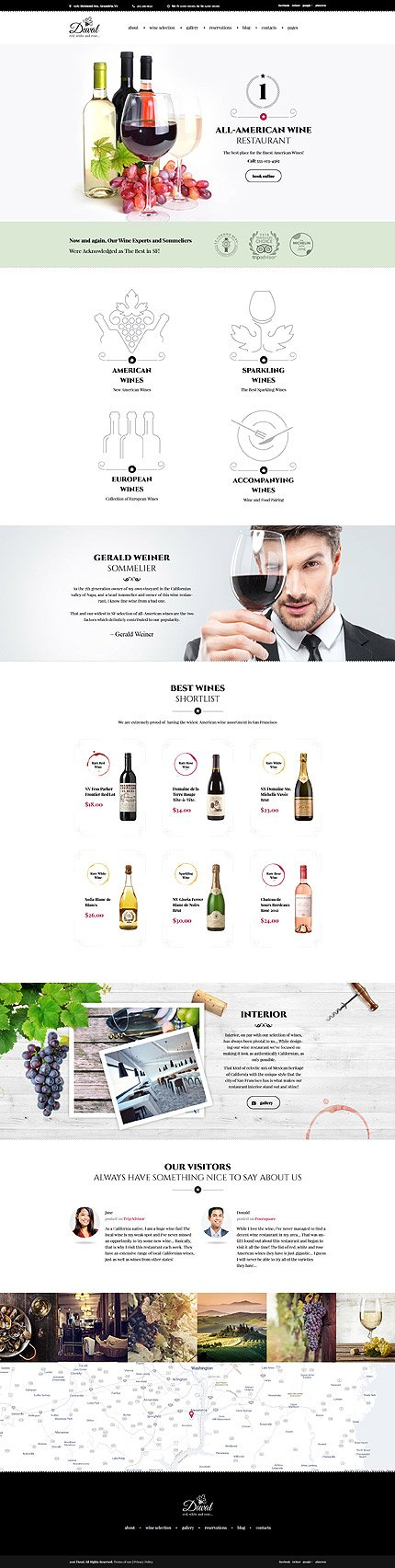 WordPress Theme/Template 59007 Main Page Screenshot