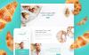 Responsivt Chateau - Bakery and Receipts WordPress-tema New Screenshots BIG