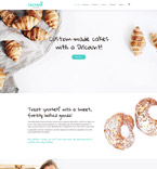 Food & Drink WordPress Template 59016