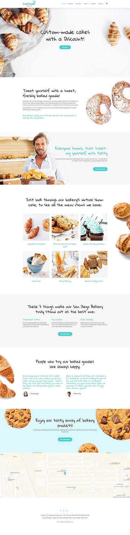 WordPress Theme/Template 59016 Main Page Screenshot