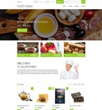 Cafe & Restaurant OpenCart  Template 59017