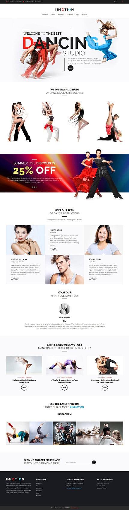 WordPress Theme/Template 59018 Main Page Screenshot