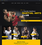 Sport WordPress Template 59019