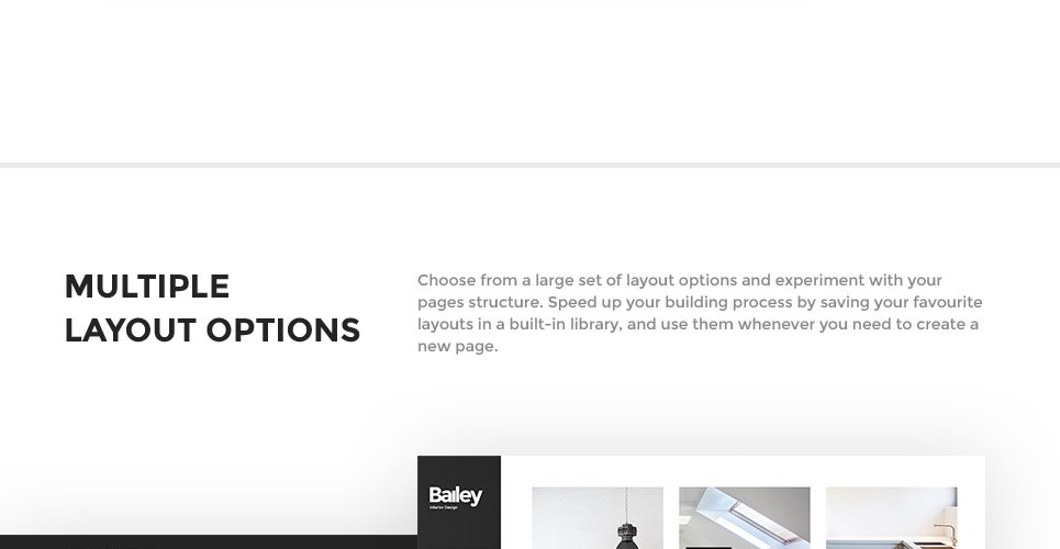 Bailey Is A Fully Responsive, SEO Friendly And Well Documented Interior  Design WordPress Theme, Created For Furniture U0026 Interior Design Websites.