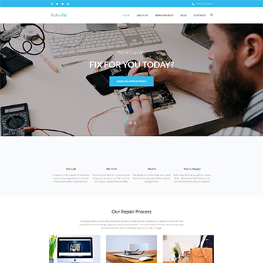 Preview image of TechnoFix - Tech Repair Company Responsive