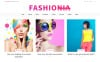 """Fashionia - Online Fashion Magazine Responsive"" 响应式WordPress模板 New Screenshots BIG"