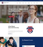 Education Website  Template 59029