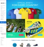 Sport VirtueMart  Template 59031