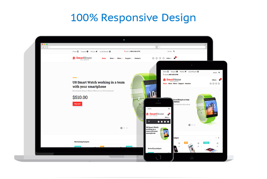 WooCommerce Themes Electronique #59041