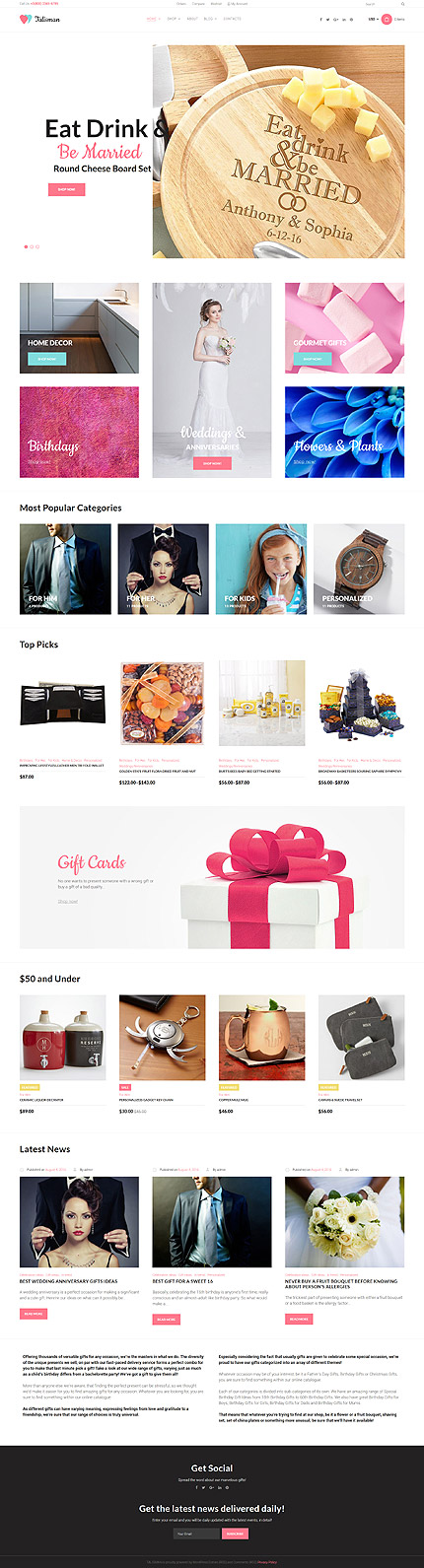 WordPress Theme/Template 59045 Main Page Screenshot
