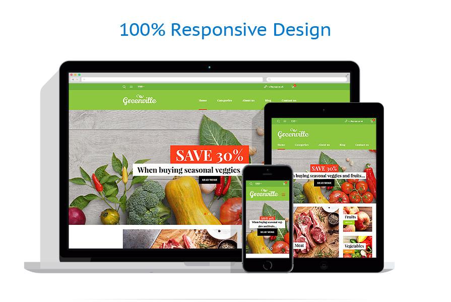WooCommerce Themes Alimentation et Boissons #59047