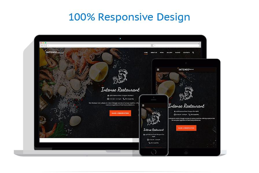 Modèles HTML5 Café et Restaurant #59048