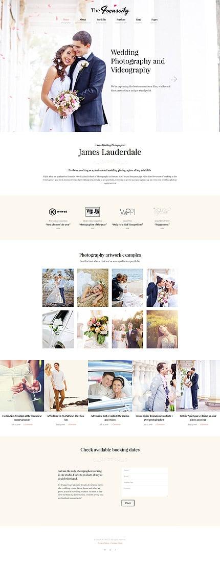 WordPress Theme/Template 59049 Main Page Screenshot