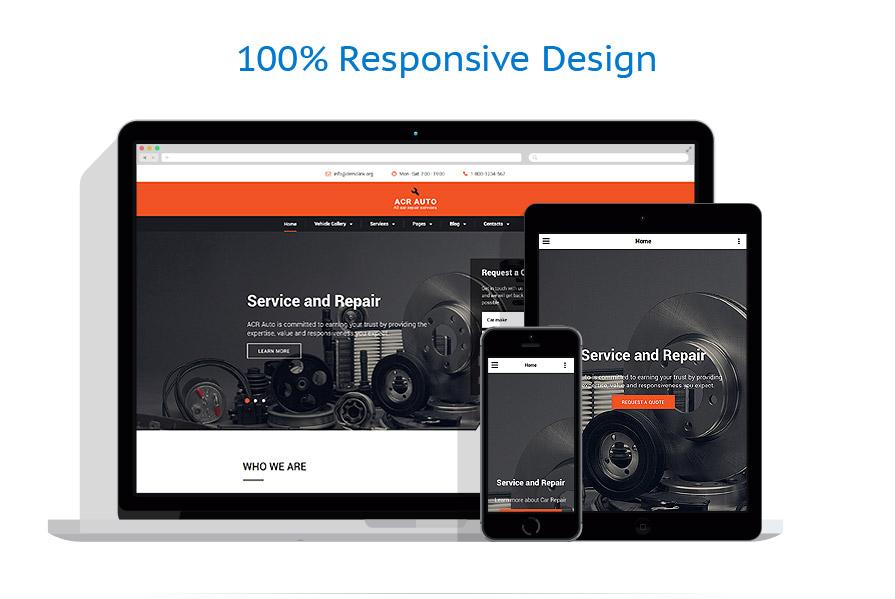 Modèles HTML5 Voitures #59050