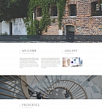 Real Estate Moto CMS 3  Template 59069