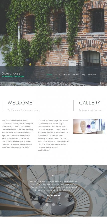 ADOBE Photoshop Template 59069 Home Page Screenshot