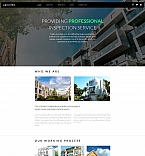 Architecture Moto CMS 3  Template 59073