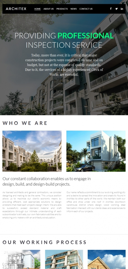 ADOBE Photoshop Template 59073 Home Page Screenshot
