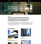 Architecture Moto CMS 3  Template 59074