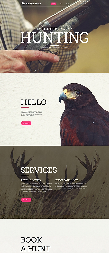 ADOBE Photoshop Template 59076 Home Page Screenshot