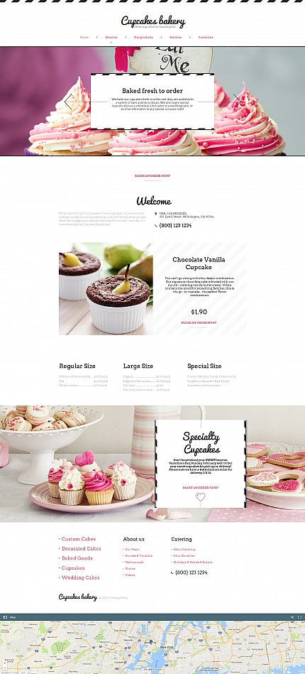 ADOBE Photoshop Template 59083 Home Page Screenshot
