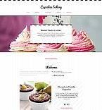 Food & Drink Moto CMS HTML  Template 59083