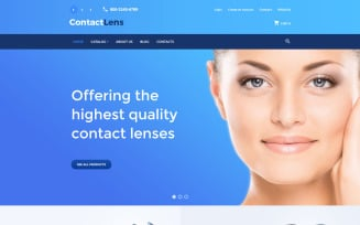 Contact Lens VirtueMart Template