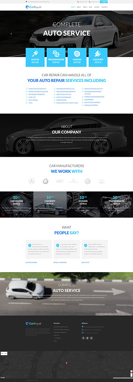 Joomla Theme/Template 59094 Main Page Screenshot