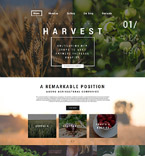 Agriculture WordPress Template 59096