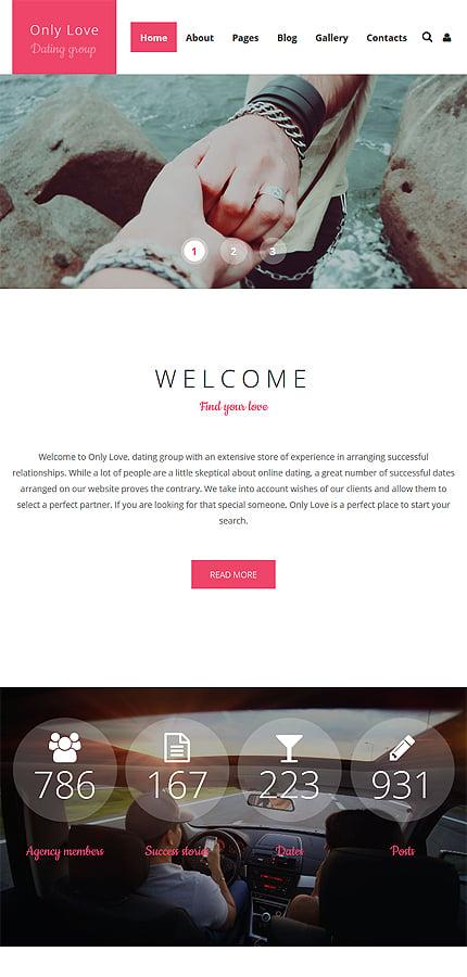 Joomla Theme/Template 59097 Main Page Screenshot