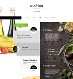 Cafe & Restaurant Website  Template 59098