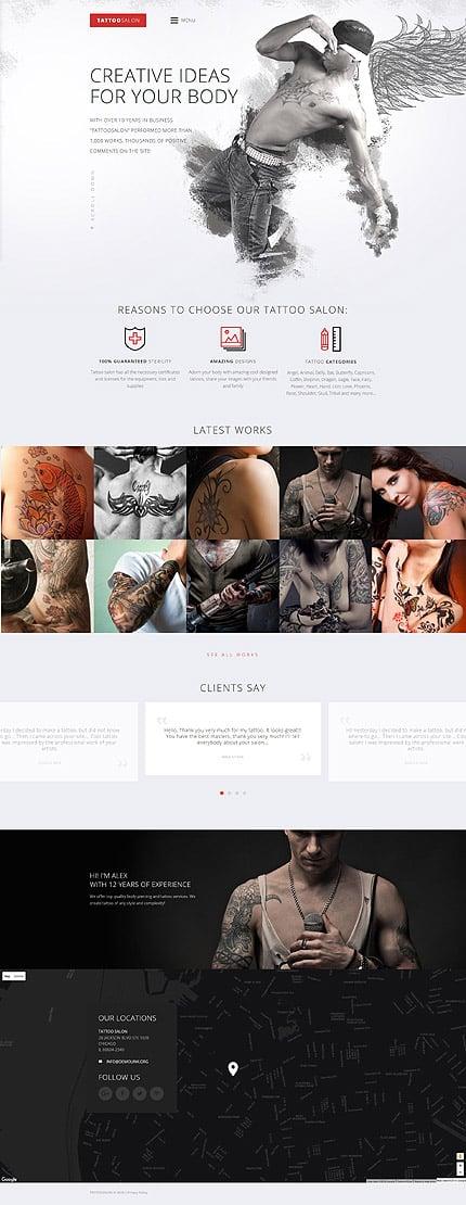 Website Template #59099