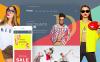 Адаптивний WooCommerce шаблон на тему одяг New Screenshots BIG
