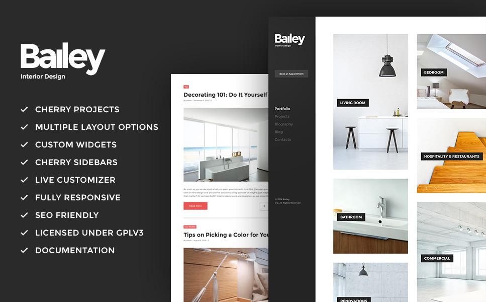 Wordpress шаблон на тему мебельного и интерьерного дизайна