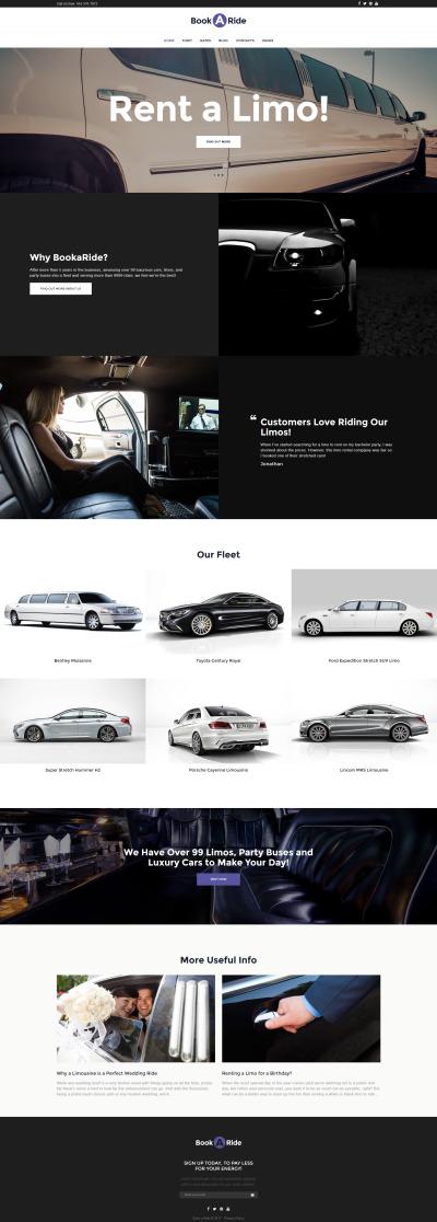 BookaRide - Limousine Car Rental Services
