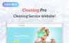 """Cleaning & Maid Service Company"" Responsive WordPress thema New Screenshots BIG"