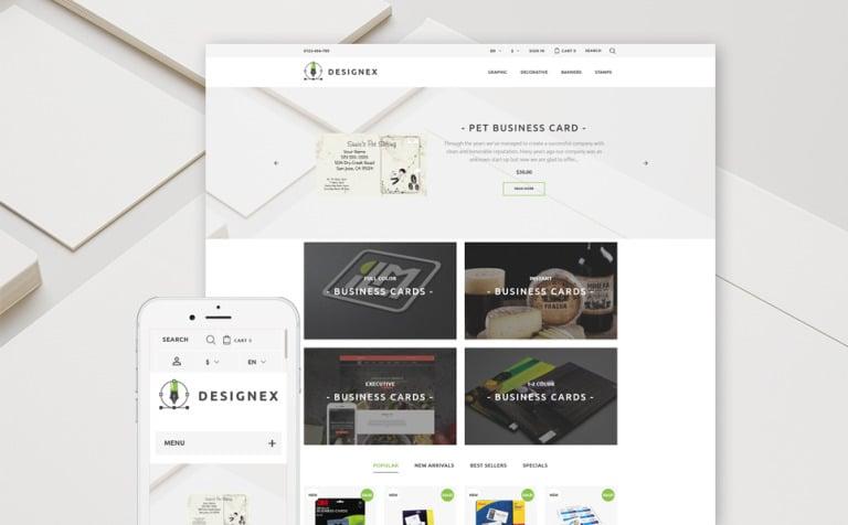 Designex - Corporate design PrestaShop Theme