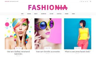 Fashionia - Online Fashion Magazine Responsive WordPress Theme