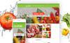 """Greenville - Organic Food Restaurant"" Responsive WooCommerce Thema New Screenshots BIG"
