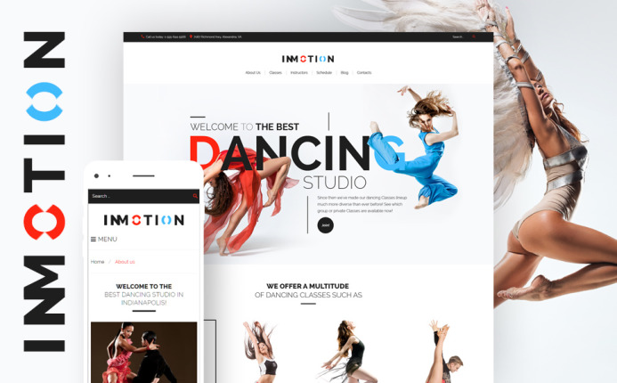 InMotion -Dance School WordPress Theme