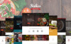 Italica - többfunkciós Étterem WordPress téma 6 skinnel New Screenshots BIG