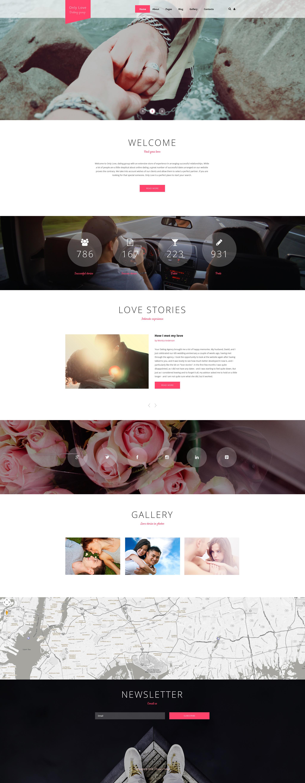 """Joomla Vorlage namens """"Only Love"""" #59097"""