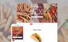 Luxusní Moto CMS HTML šablona na téma Mexická Restaurace New Screenshots BIG