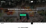 "Moto CMS 3 Template namens ""Spectrum Business"""