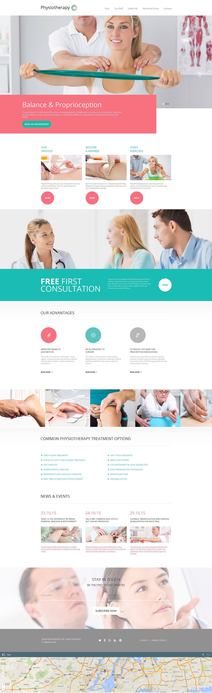 Moto CMS HTML Vorlage für Rehabilitation #59077