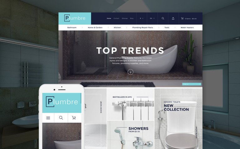 Plumbre - Plumbing Supplies PrestaShop Theme New Screenshots BIG