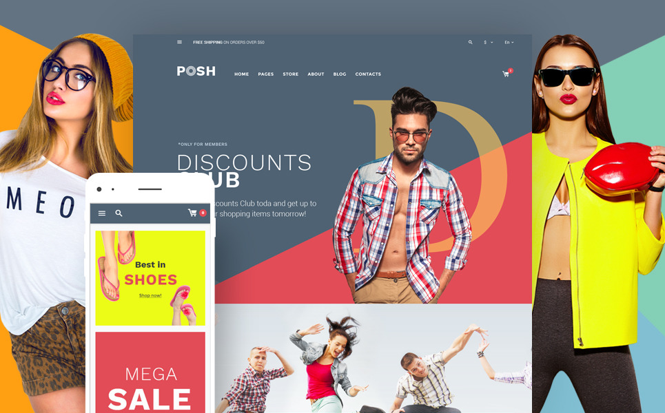 Posh - Urban Fashion WooCommerce Theme New Screenshots BIG