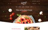 PrestaShop шаблон пиццерия №59054