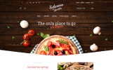 "PrestaShop Theme namens ""Saturnino - Pizzeria"""
